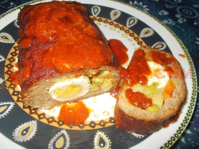 Meatloaf (With Garniture)