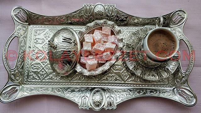 How to Make a Medium Sugar Turkish Coffee with Big Foaming?