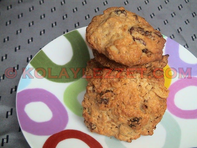 Oatmeal Cookies With Dried Fruits🍪