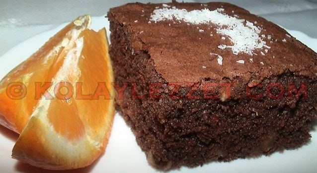 Orange Brownie Recipe