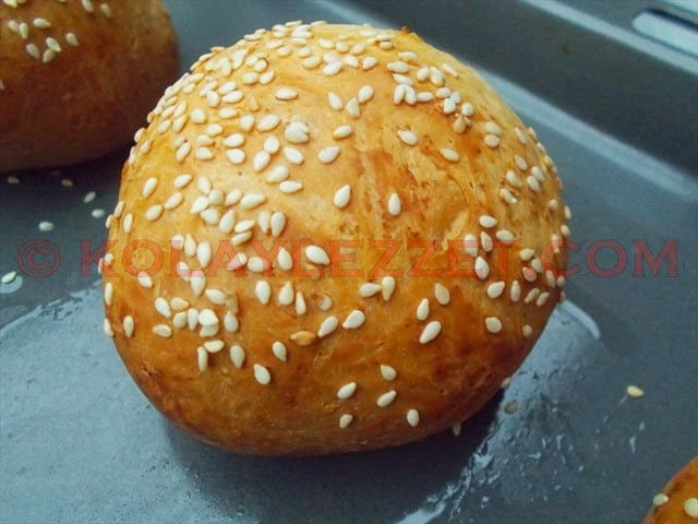 Puffy Hamburger Bun Recipe